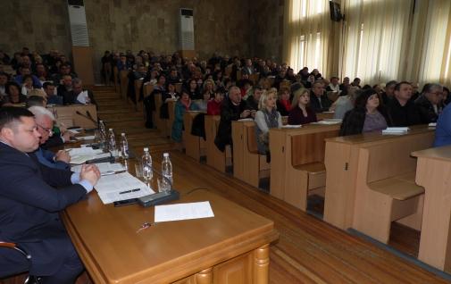 Проведено колегію за підсумками роботи ГУ Держпродспоживслужби у Вінницькій області в 2017 році