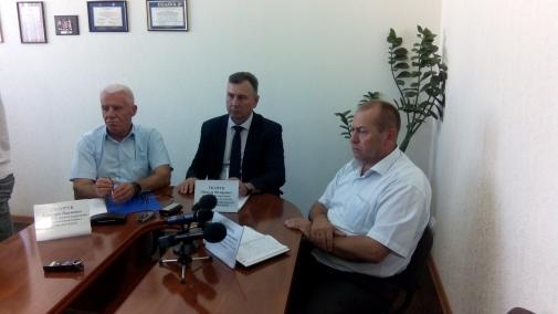 Відбулась прес-конференція щодо проведення в області жнивної кампанії та рівня якості зерна врожаю поточного року