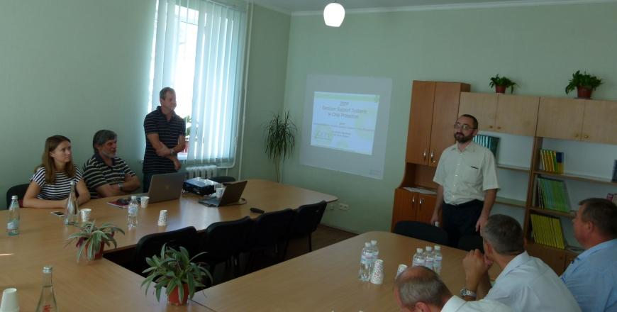 Відбувся Твіннінг «Наближення законодавства України до законодавства ЄС у сфері засобів захисту рослин і здоров'я рослин»