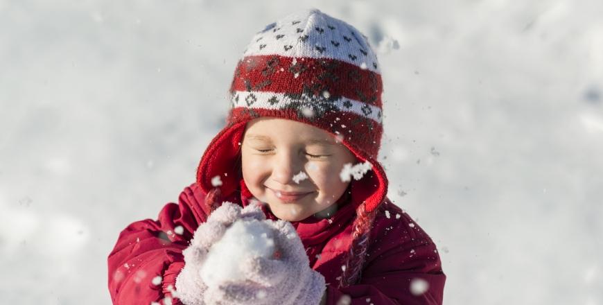 Як одягати дітей під час морозів