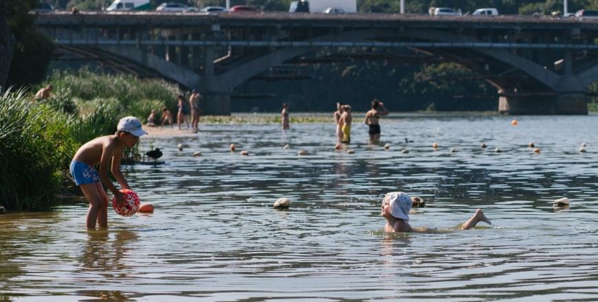 Якість води на пляжах міста Вінниця в червні поточного року