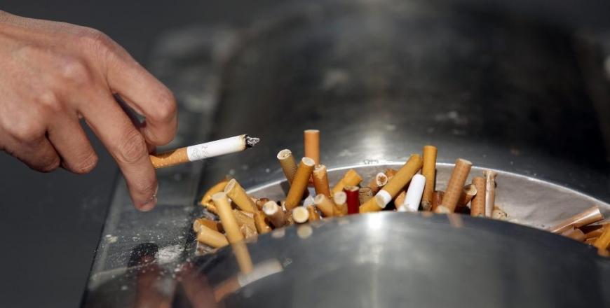 Обмеження реклами тютюнових виробів в Україні