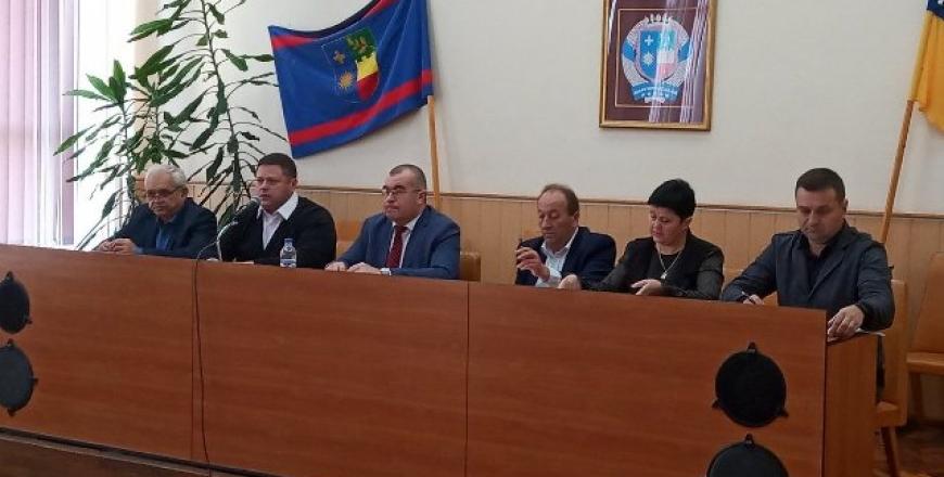Відбулась зустріч з головами та секретарями територіальних громад Шаргородського району