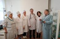 Держпродспоживслужба та медичний персонал Липовецької ЦРЛ обговорили дотримання санітарно-гігієнічного та протиепідемічного режимів