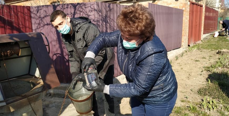 Держпродспоживслужба продовжує перевіряти якість питної води з криниць громадського користування у Вінниці